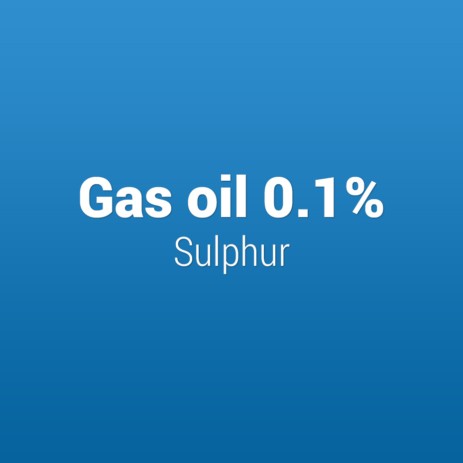 Gas oil 0.1% Sulphur
